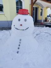 Nika's snowman